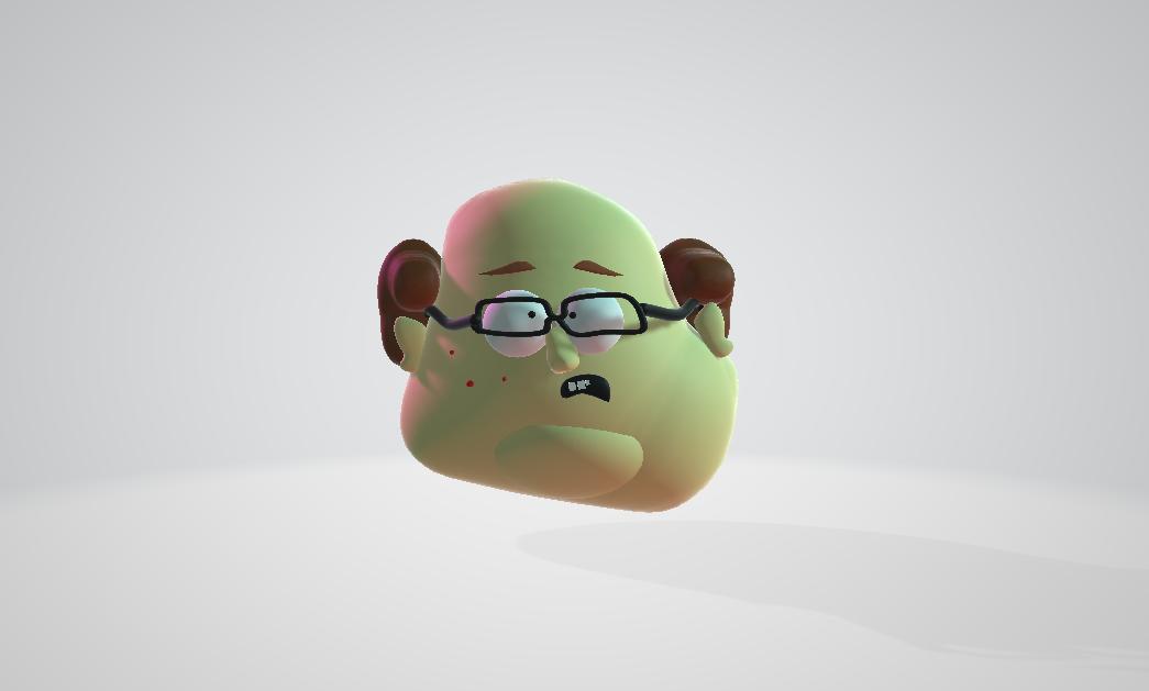 Jenkins de la série South Park, recréé avec Paint 3D